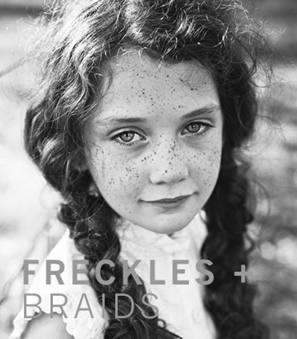 FRECKLES + BRAIDS | westover manor
