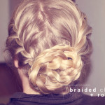 BRAIDED CHIGNON / A TUTORIAL