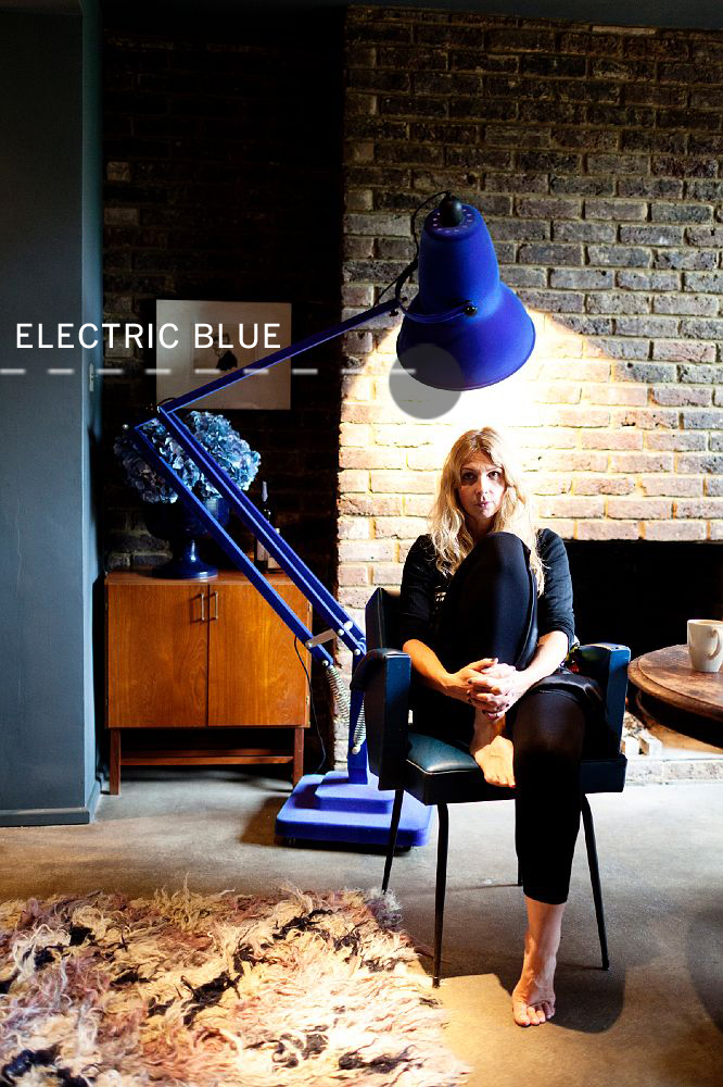 ELECTRIC BLUE LAMP | westover manor