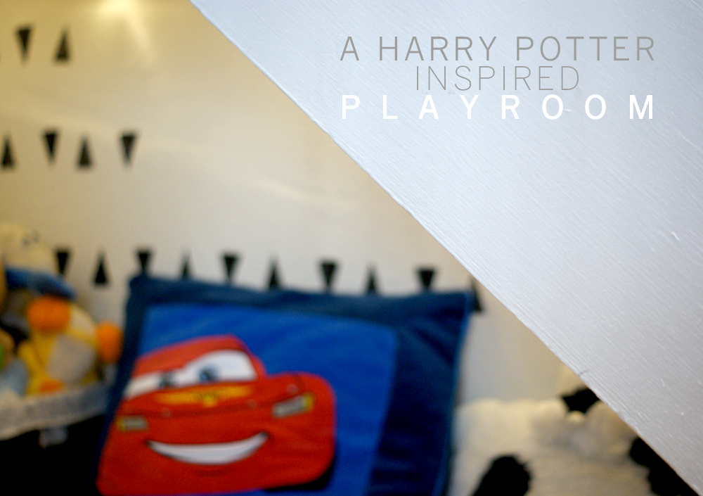 Harry Potter Inspired Playroom | westover manor