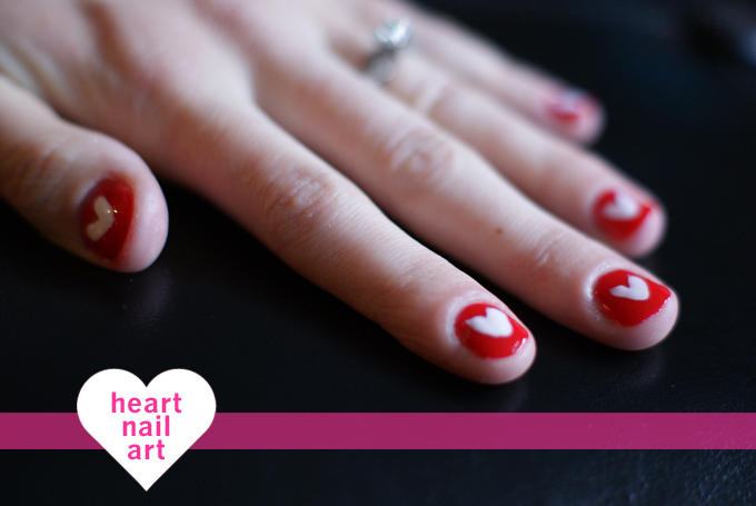 HEART NAIL ART DIY | westover manor