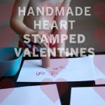HANDMADE HEART STAMP VALENTINES