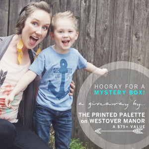 MONDAY GIVEAWAY / THE PRINTED PALETTE {CLOSED}