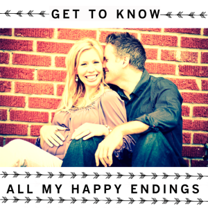 GET TO KNOW (ALL MY HAPPY ENDINGS) + A GIVEAWAY