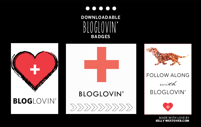 DOWNLOADABLE BLOGLOVIN BADGES | WESTOVER MANOR
