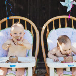 THE TWINS HAVE A BIRTHDAY AND BATHE IN CHOCOLATE CAKE