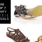 TOP 7 COMFY SUMMER SANDALS ON FALLING FOR FRIDAY / 19