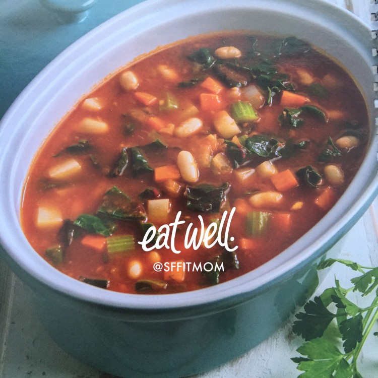 Minestrone Soup - SF Fit Mom