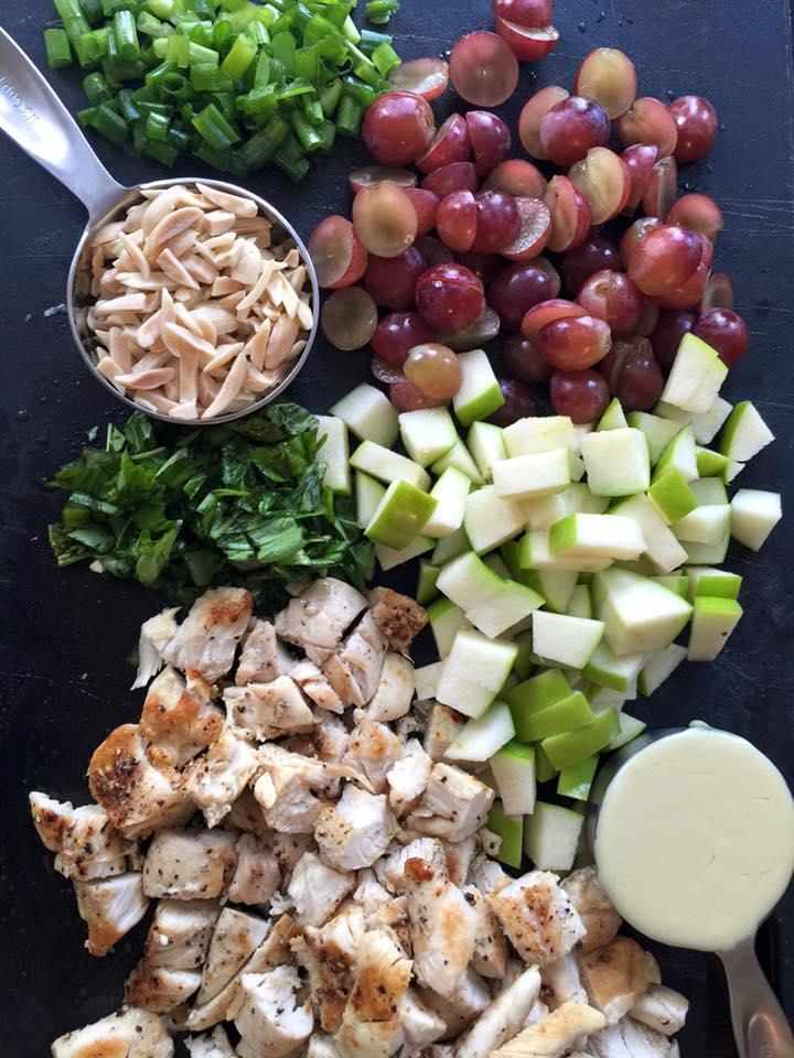 Healthy Creamy Chicken Salad - SF Fit Mom - Kelly Westover