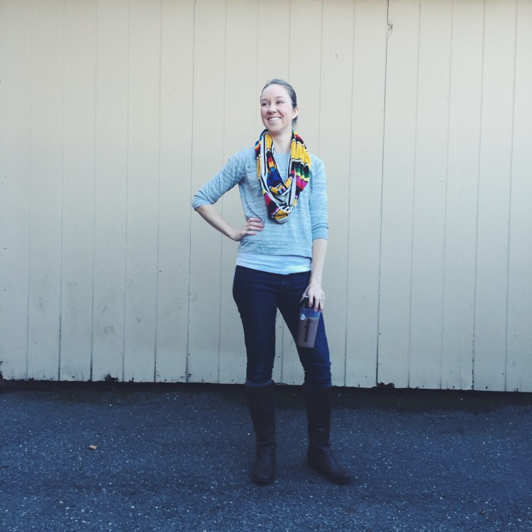 SF Fit Mom - Kelly Westover - Just Dawnelle Scarf