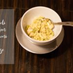 from the kitchen: broccoli and chicken macaroni & cheese